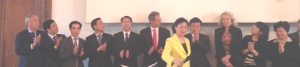 1406 Guangdong office launch Zhao and Guangdong Province delegation in Europe